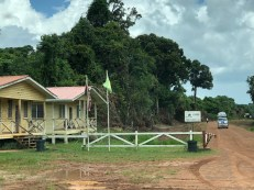 guyana customs checkpoint