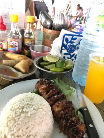 hmong market meal