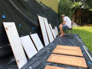 painting doors canela