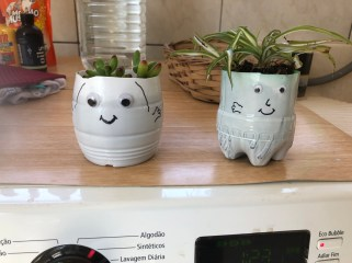 recycled planters