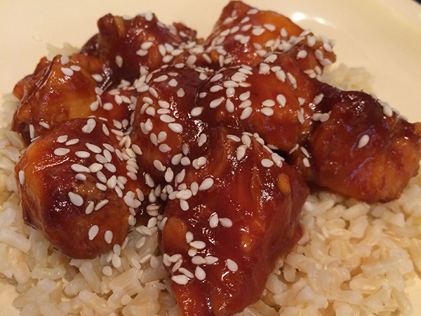 Healthy Homemade Sesame Chicken