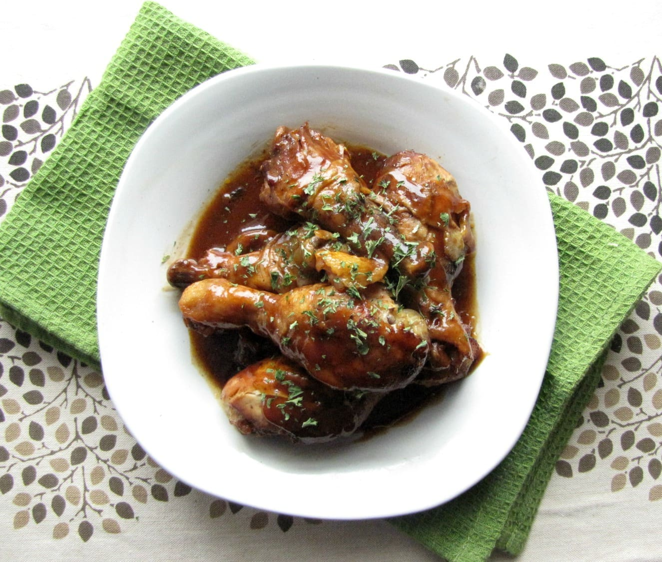 Slow Cooker Sweet and Tangy Chicken Drumsticks