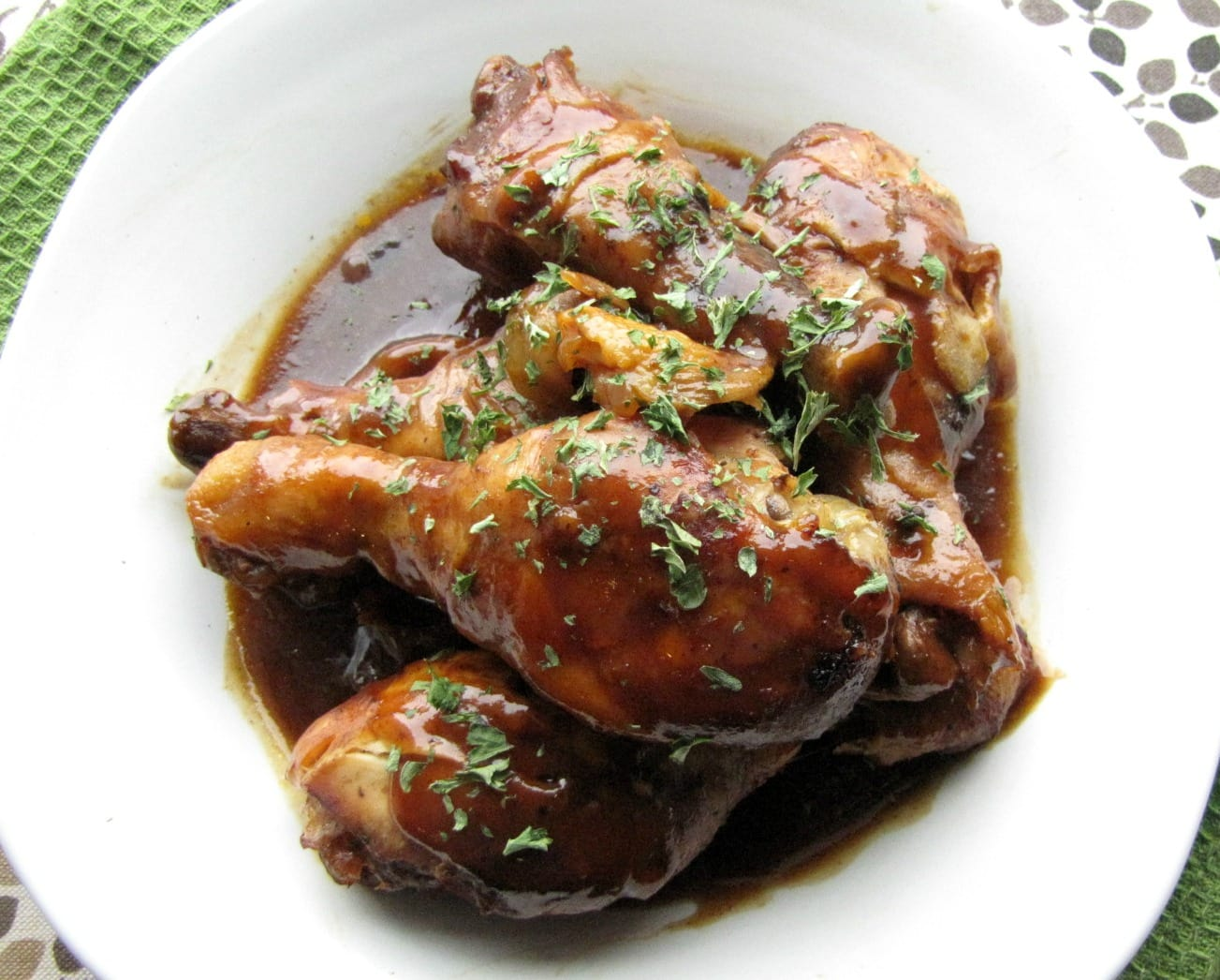 Slow Cooker Sweet and Tangy Chicken Drumsticks - Slow ...