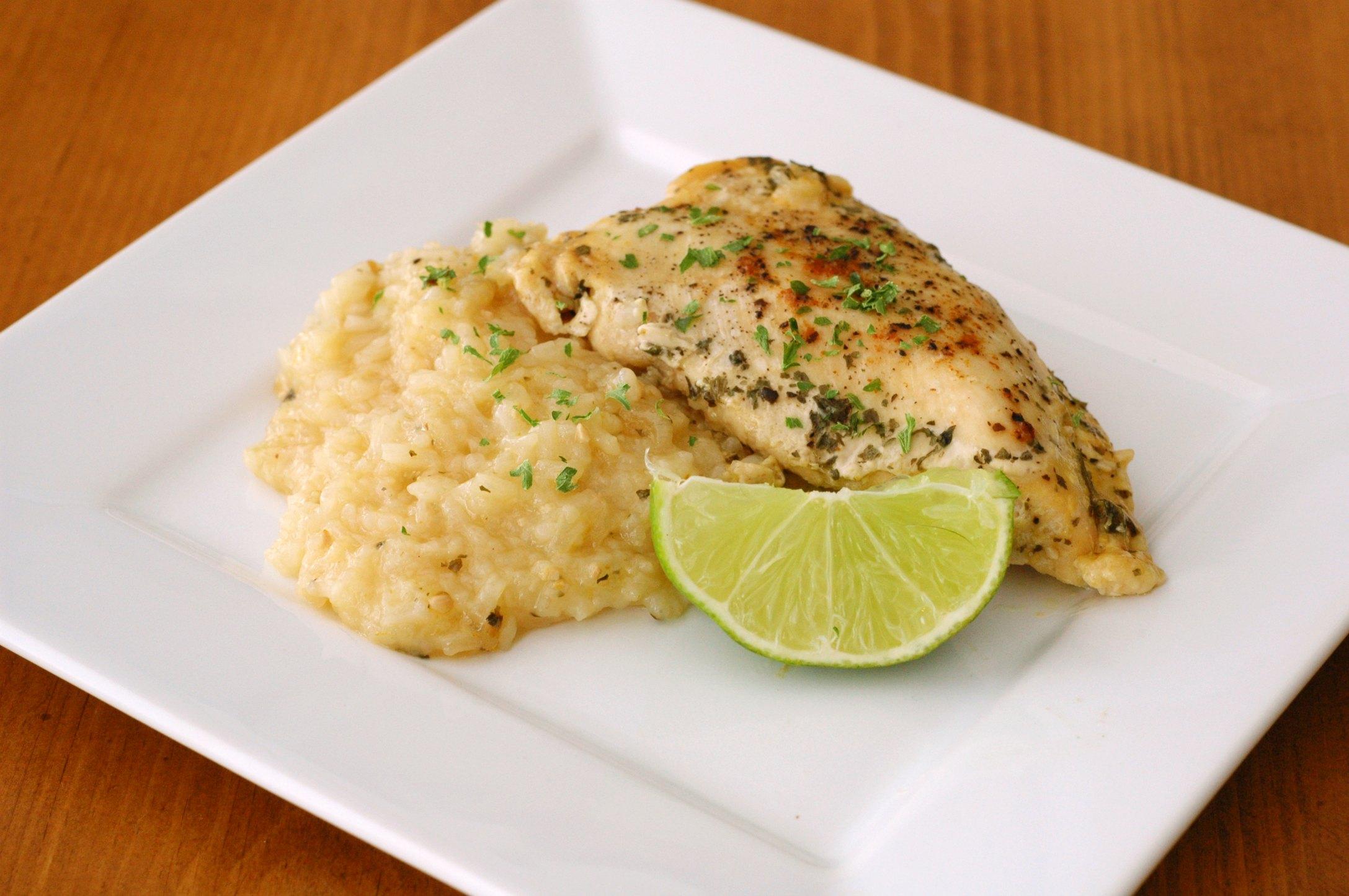 Slow Cooker Margarita Chicken