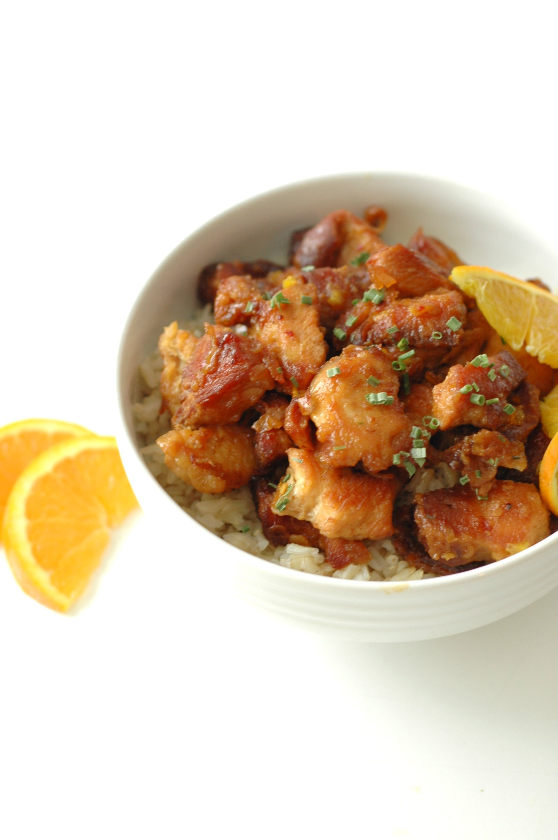 Slow Cooker Crispy Orange Chicken