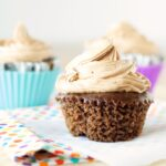 Slow Cooker Dreamy Hazelnut Cupcakes