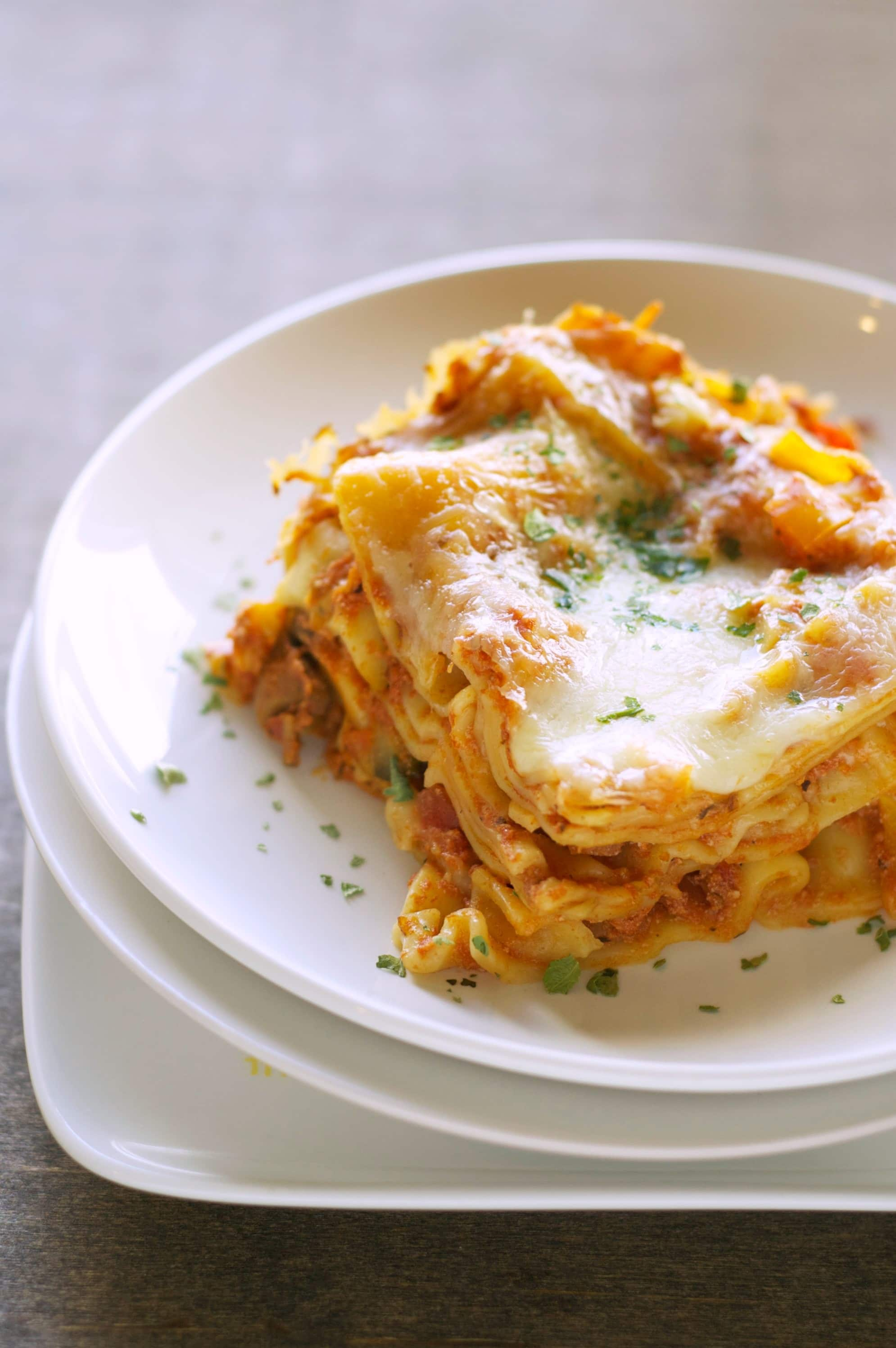Slow Cooker Veggie Lasagna