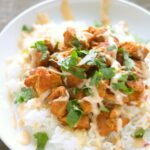 Slow Cooker Honey Sriracha Chicken