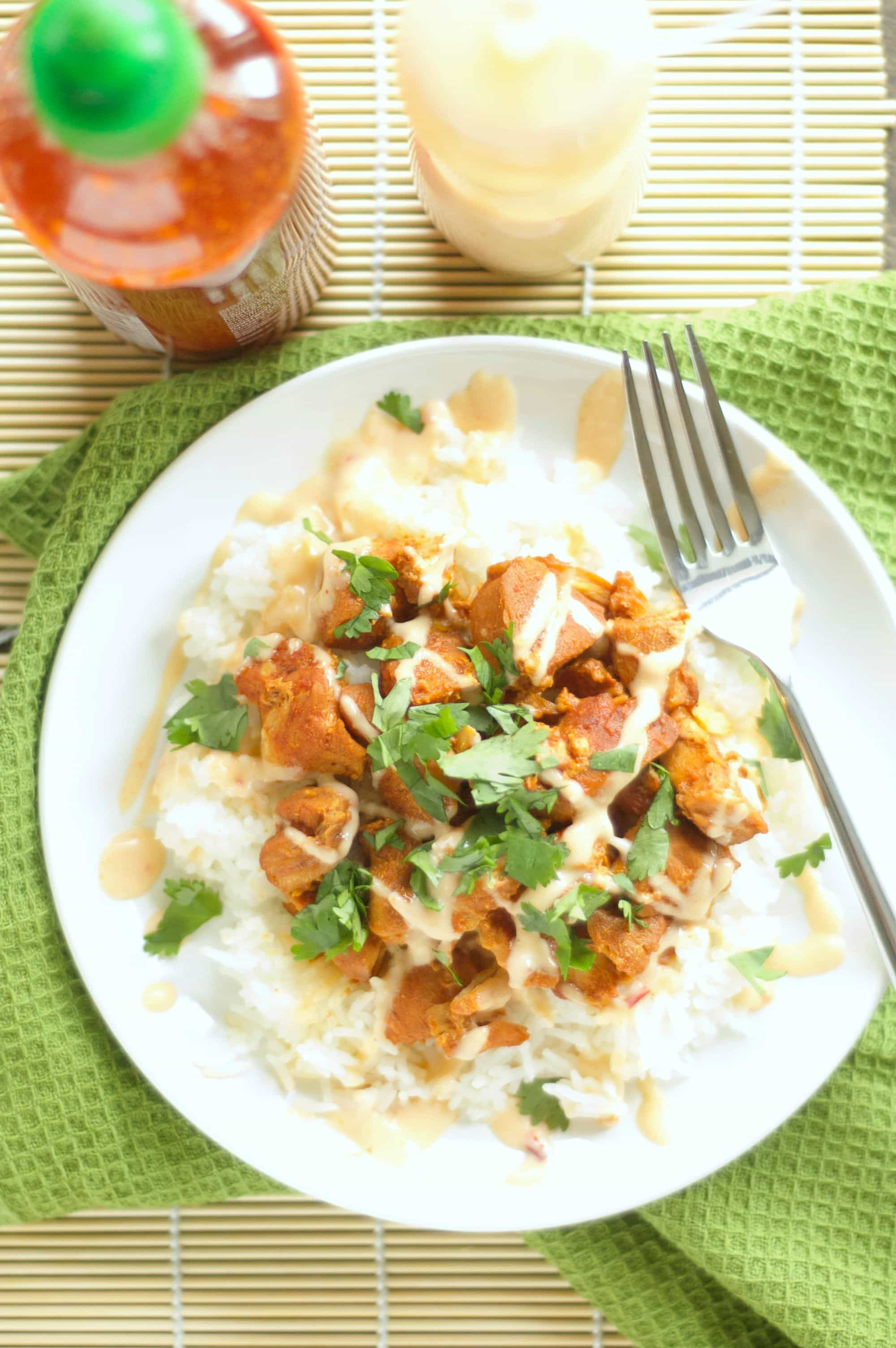Slow Cooker Honey Sriracha Chicken (3)