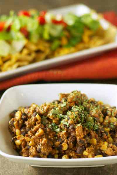 Slow Cooker Turkey Taco Salad