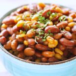 Slow Cooker Honey BBQ Baked Beans