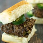 Slow Cooker Jalapeno Cheddar Sliders