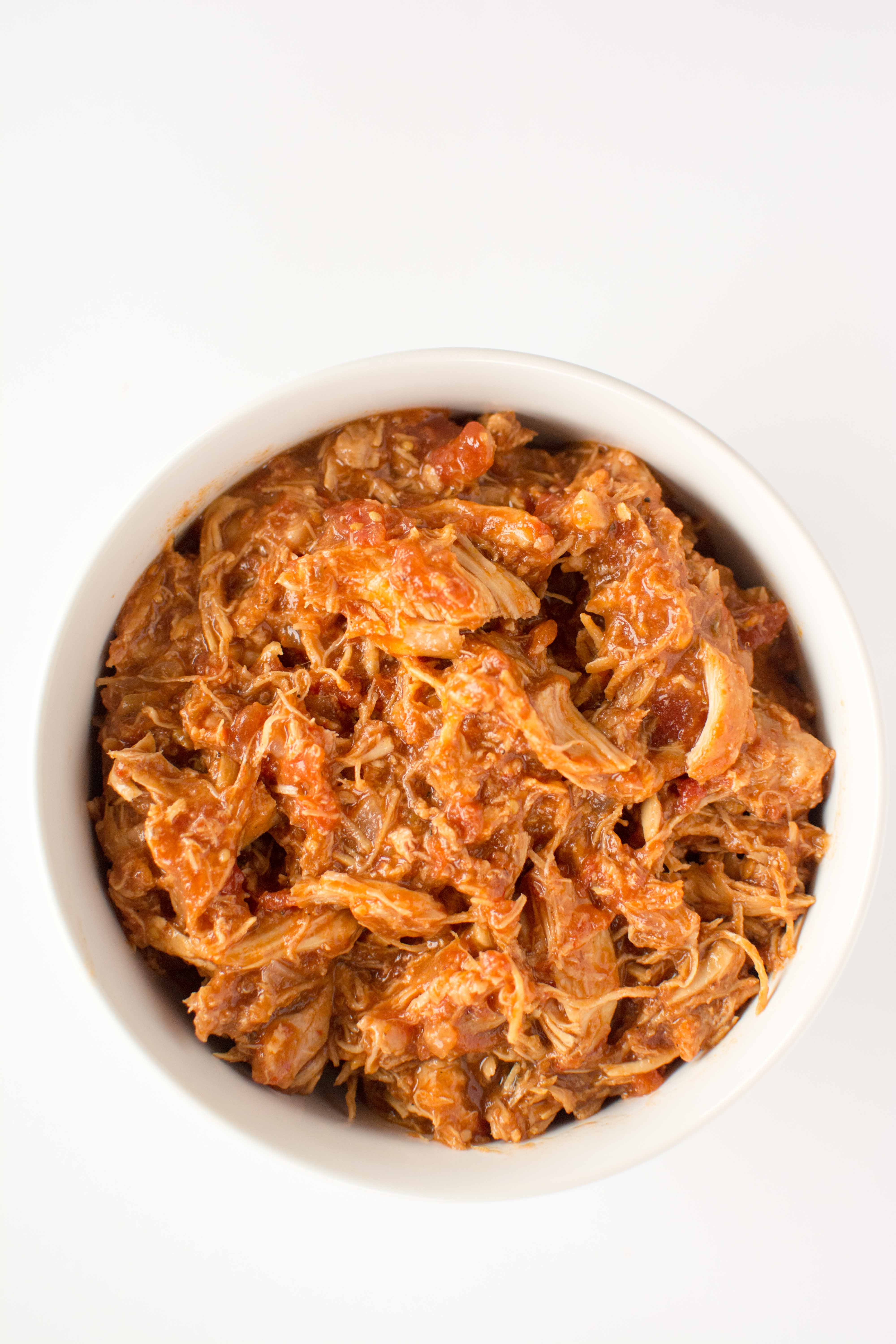 Slow Cooker Chicken Tinga-5