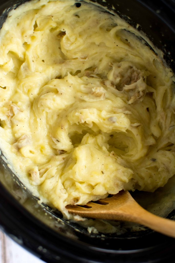 Slow Cooker Skinny Mashed Potatoes