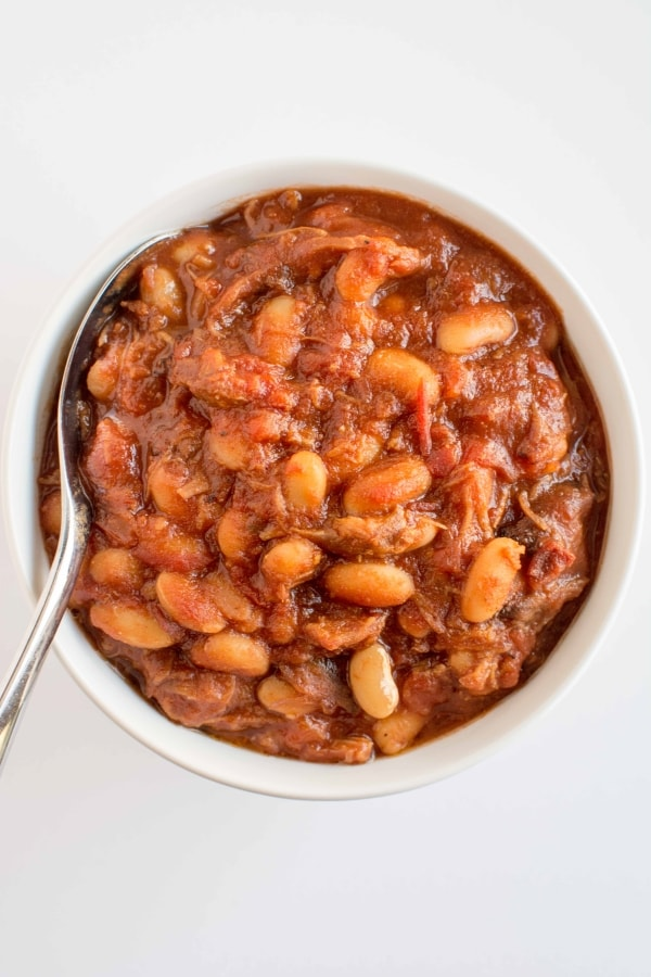 Slow Cooker Classic Baked Beans