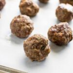 Freezer:  Make-Ahead Italian Meatballs