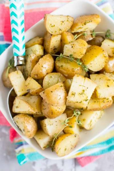 Slow Cooker Ranch Potatoes