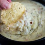 Slow Cooker Sausage Pepper Jack Dip