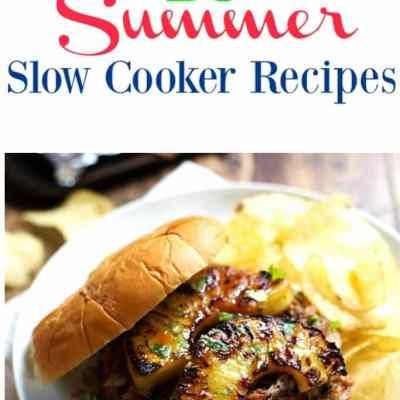 15 Summer Slow Cooker Recipes