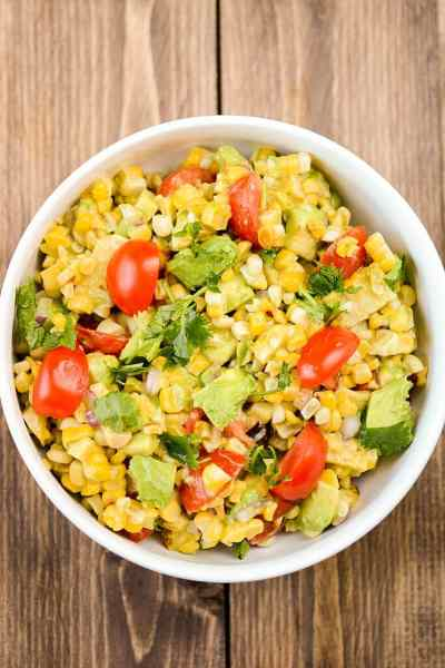 Summer Fresh Grilled Corn Salad