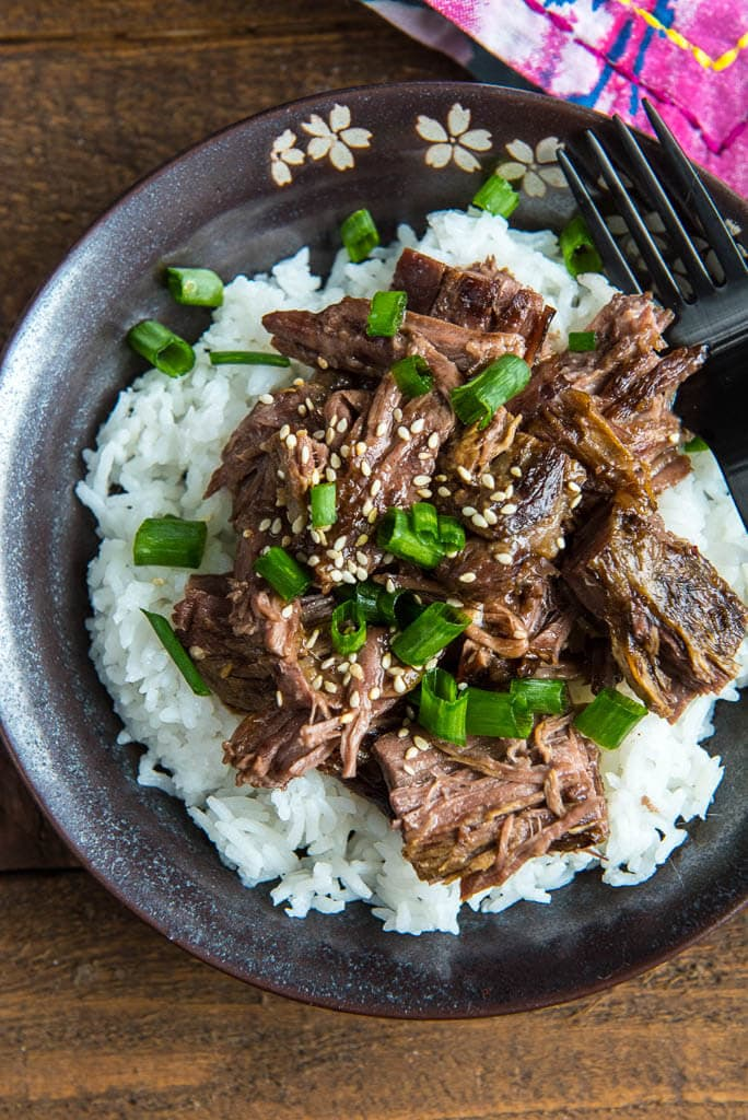 No need to waste money eating out! This Slow Cooker Mongolian Beef is so easy to make, so fresh and so much better than take-out!