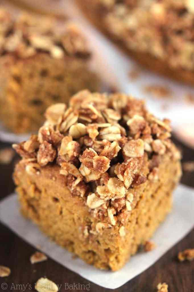 Slow Cooker Pumpkin Spice Coffee Cake