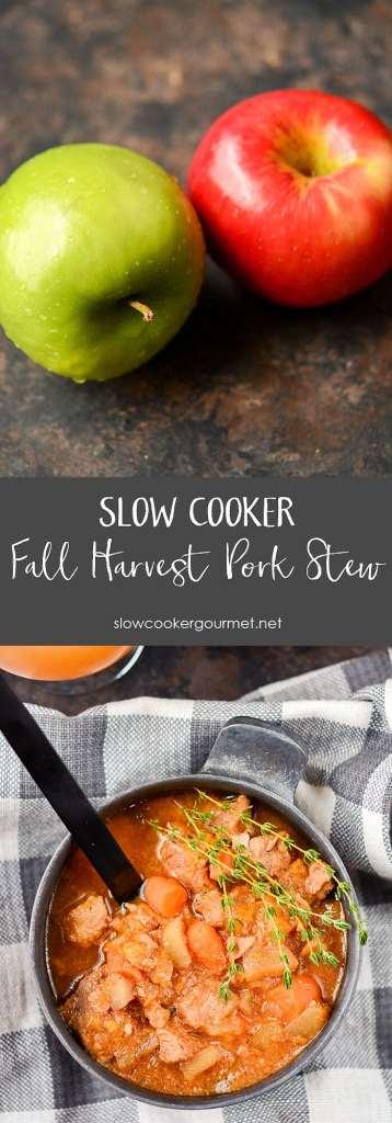 Slow Cooker Fall Harvest Pork Stew