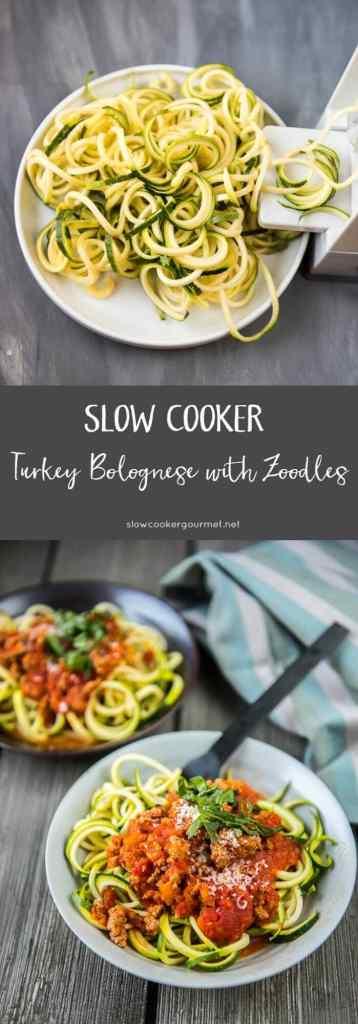 Slow Cooker Turkey Bolognese