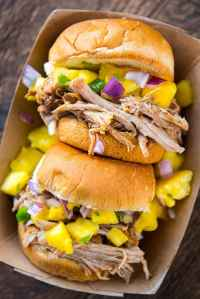 Pressure Cooker Caribbean Jerk Pulled Pork