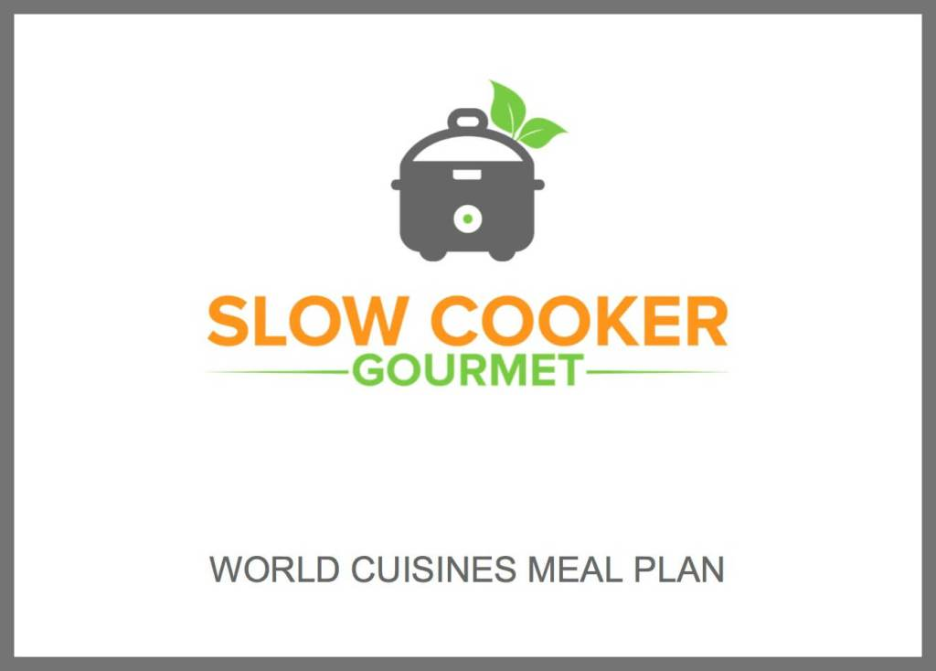 World Cuisine Meal Plan Packet