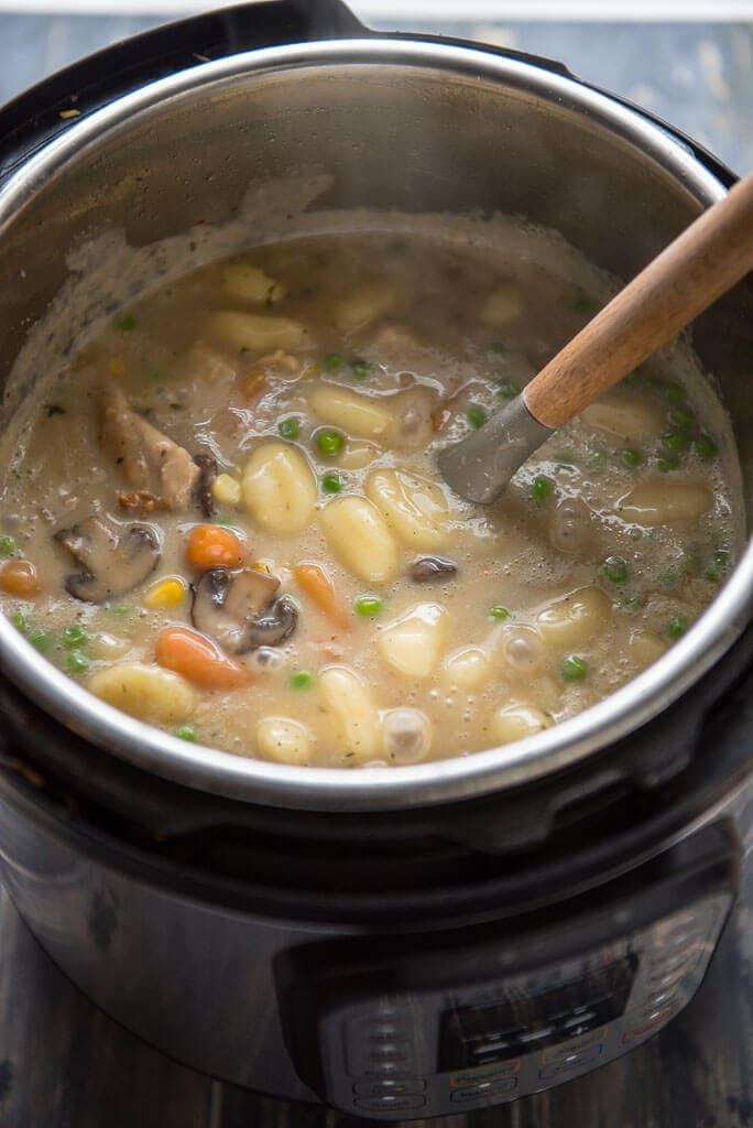 instant pot chicken and dumplings  slow cooker gourmet