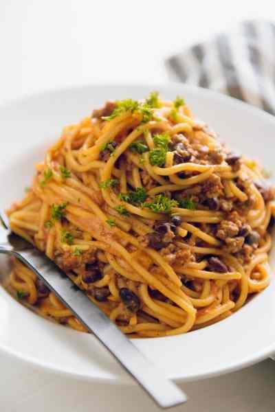 Instant Pot Taco Spaghetti