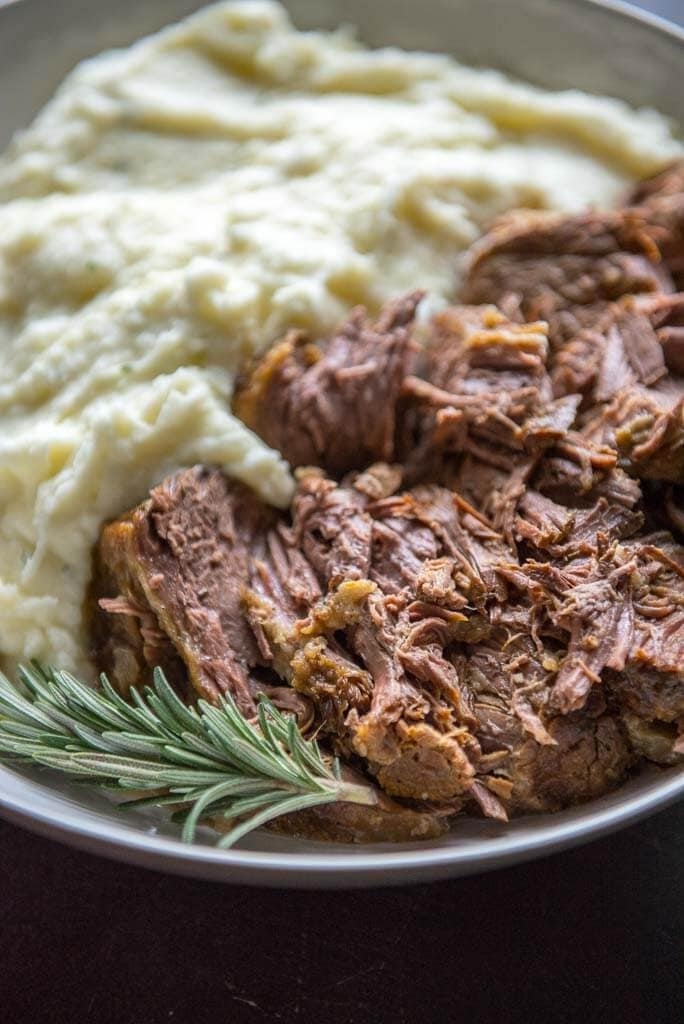 Slow Cooker Roast Beef With Rosemary And Garlic Slow Cooker Gourmet