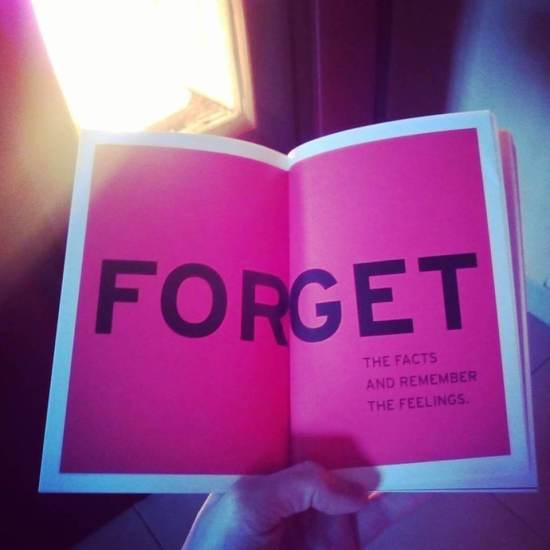 forget the facts and remember the feelings parks and recreation amy poehler book yes please