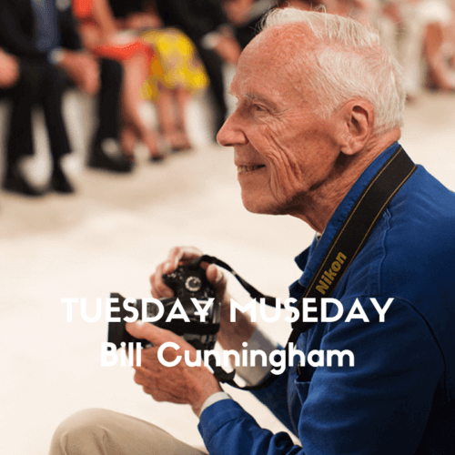 Bill Cunningham Photographer Fashion Show