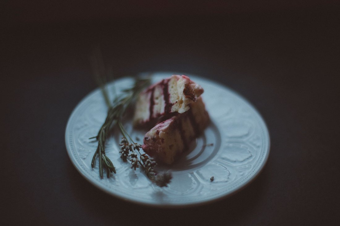 Rosemary and Thyme Infused Fairy Cakes