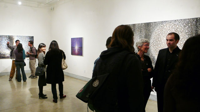Randall Stoltzfus opening at LIMN Gallery
