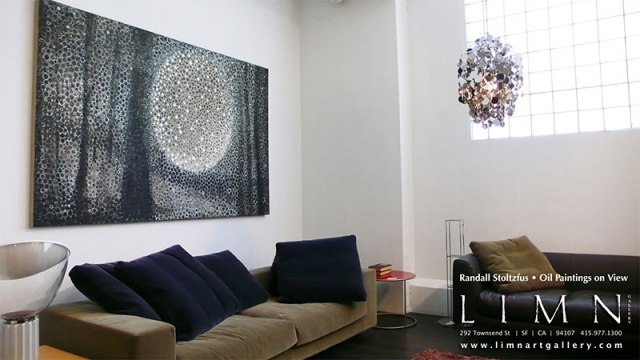 """Penumbra"" installed in the LIMN showroom in San Francisco"