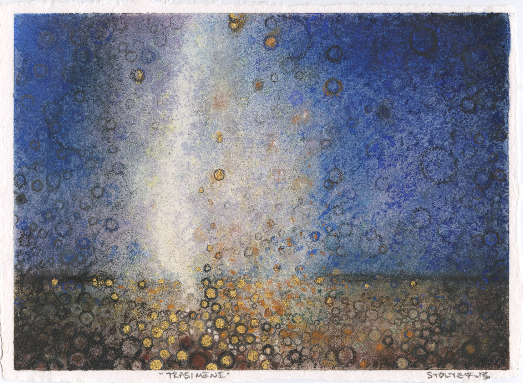 """Light in an imagined landscape 