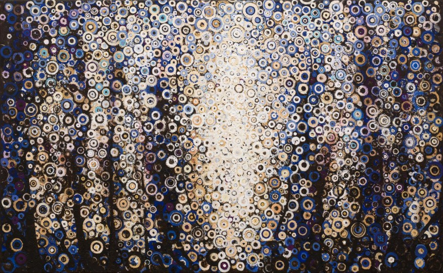 """Break"" by Randall Stoltzfus. 2013, Acrylic dispersion on canvas, 48 by 60 inches."