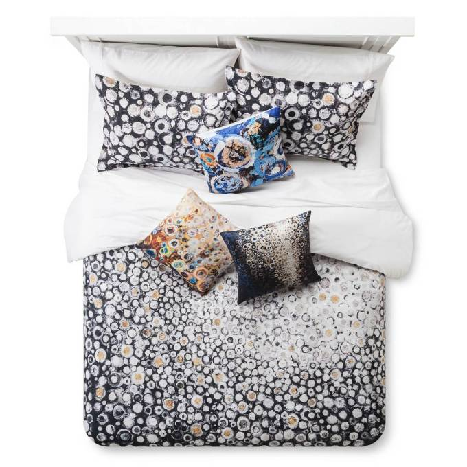 Duvet cover and pillows based on paintings by brooklyn artist Randall Stoltzfus | The Randall Stoltzfus Bedding Collection at Target.com