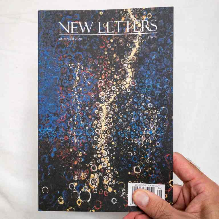 New Letters Randall Stoltzfus Feature cover