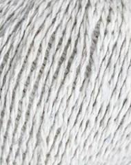 Recylked jeans. Garn af genanvendte fibre fra cowboybukser. Garn i Præstø