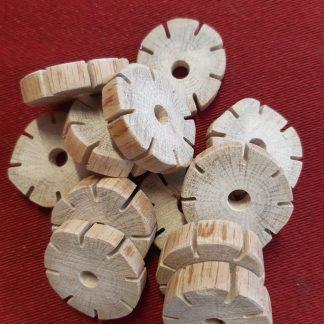 Håndlavet flettehjul krea kreativ underholdning til børn garnbutik Præstø