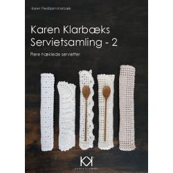 Karen Klarbæk hæklede servietter økologisk garn