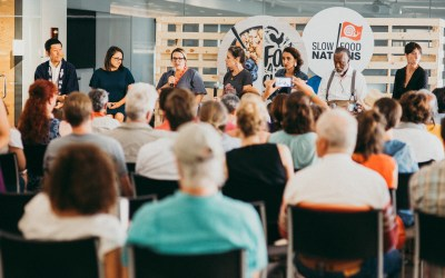 Mother Jones at Slow Food Nations