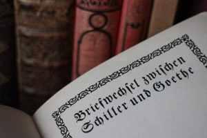 Schiller und Goethe - Briefwechsel / Foto: Larissa Vassilian