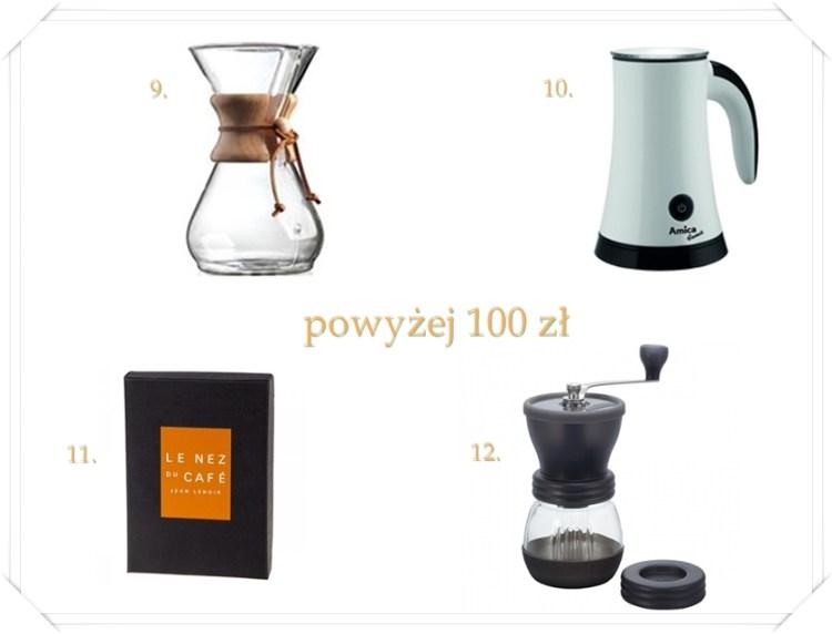 prezent dla amatora kawy od 100 zł