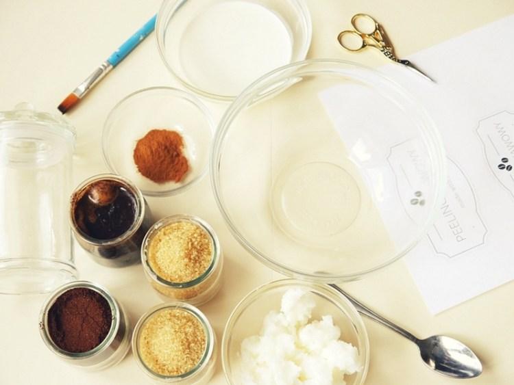 peeling kawowy DIY