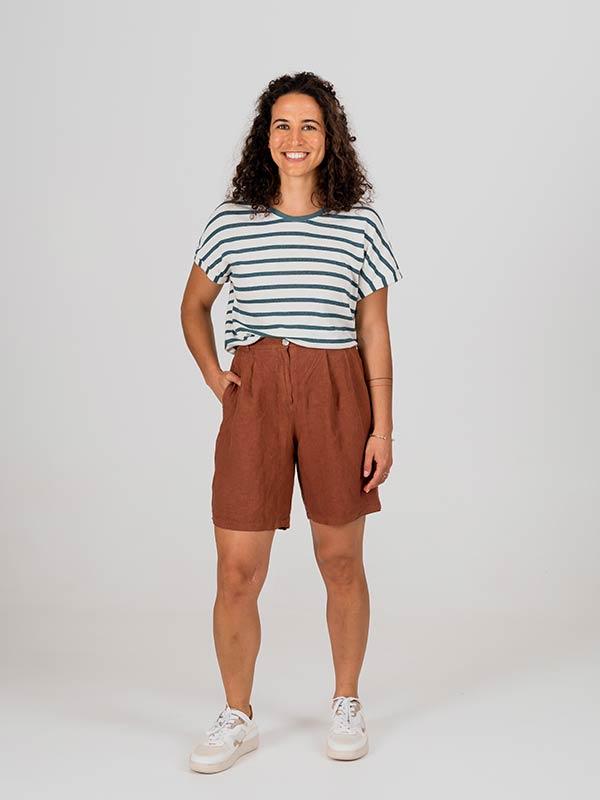 nachhaltige-Shorts-Avis-Leinen-NAEZ-terracota-slowli_1